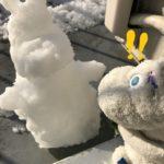 雪の朝のムーミン劇場。『お友達がやってきた!』