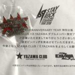 矢沢さんの特別企画、ダブルメンバー限定ピンバッヂが届きました!