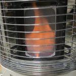 ガスストーブの炎が強くなってしまったので修理依頼をしました。